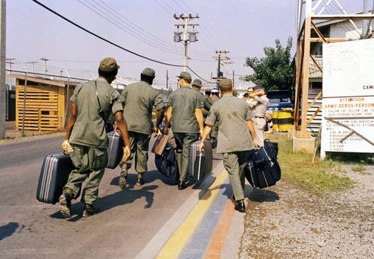 March 29, 1973, marked the last American combat troops leaving Vietnam.