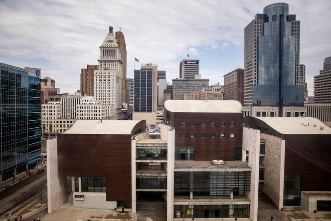 National Underground Railroad Freedom Center in downtown Cincinnati Thursday, March 28, 2019.