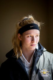 Taryn Taugher, 22, wrote an article detailing the 'emotional abuse' she and her teammates endured while playing for head coach Camryn Whitaker at NKU. She says the university isn't doing enough to stop it.