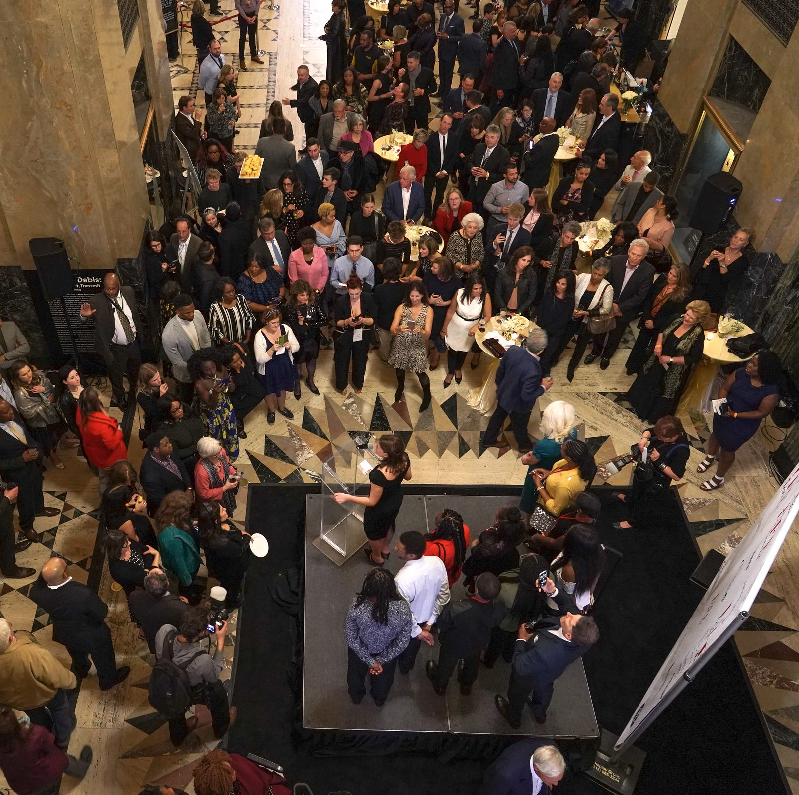'Hamilton' gala benefit for L!FE Leaders draws big names to Detroit's Fisher Building