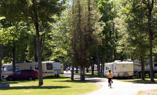 Baraga State Park in Michigan's Upper Peninsula in an undated photo.