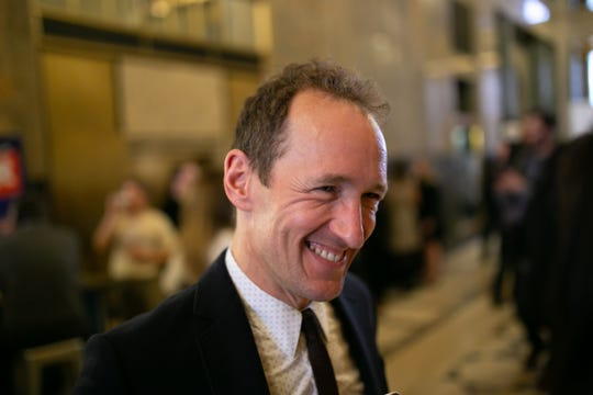 """""""Hamilton"""" lead producer Jeffrey Seller was in attendance at Thursday evening's gala."""