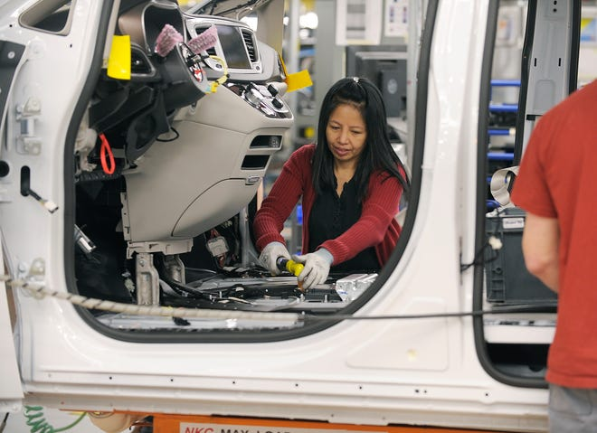 About 1,500 workers on the third shift at Fiat Chrysler Automobiles' Windsor Assembly Plant will have jobs through the first three months of the year.