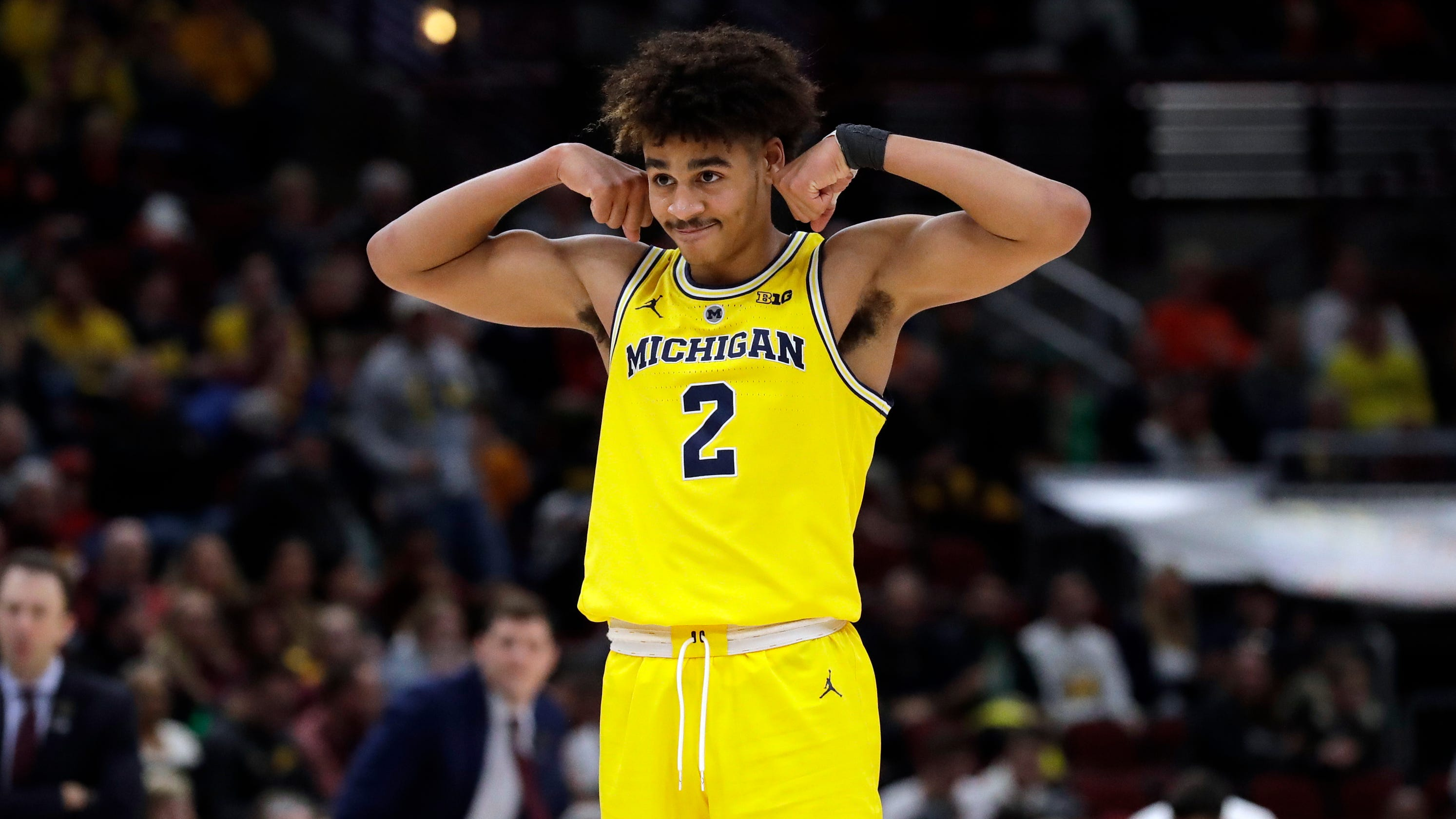 size 40 e7d8e 960c8 Niyo: Jordan Poole gets to 'show more,' gives Michigan a ...