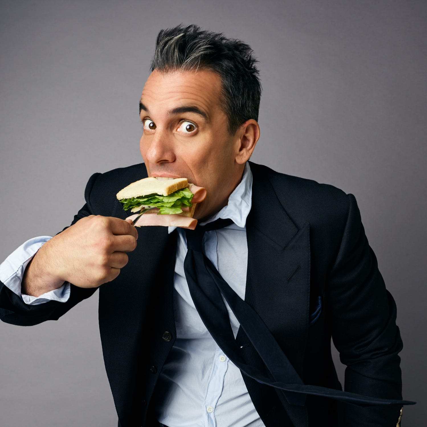Well-dressed Sebastian Maniscalco brings his animated observations to Fox Theatre