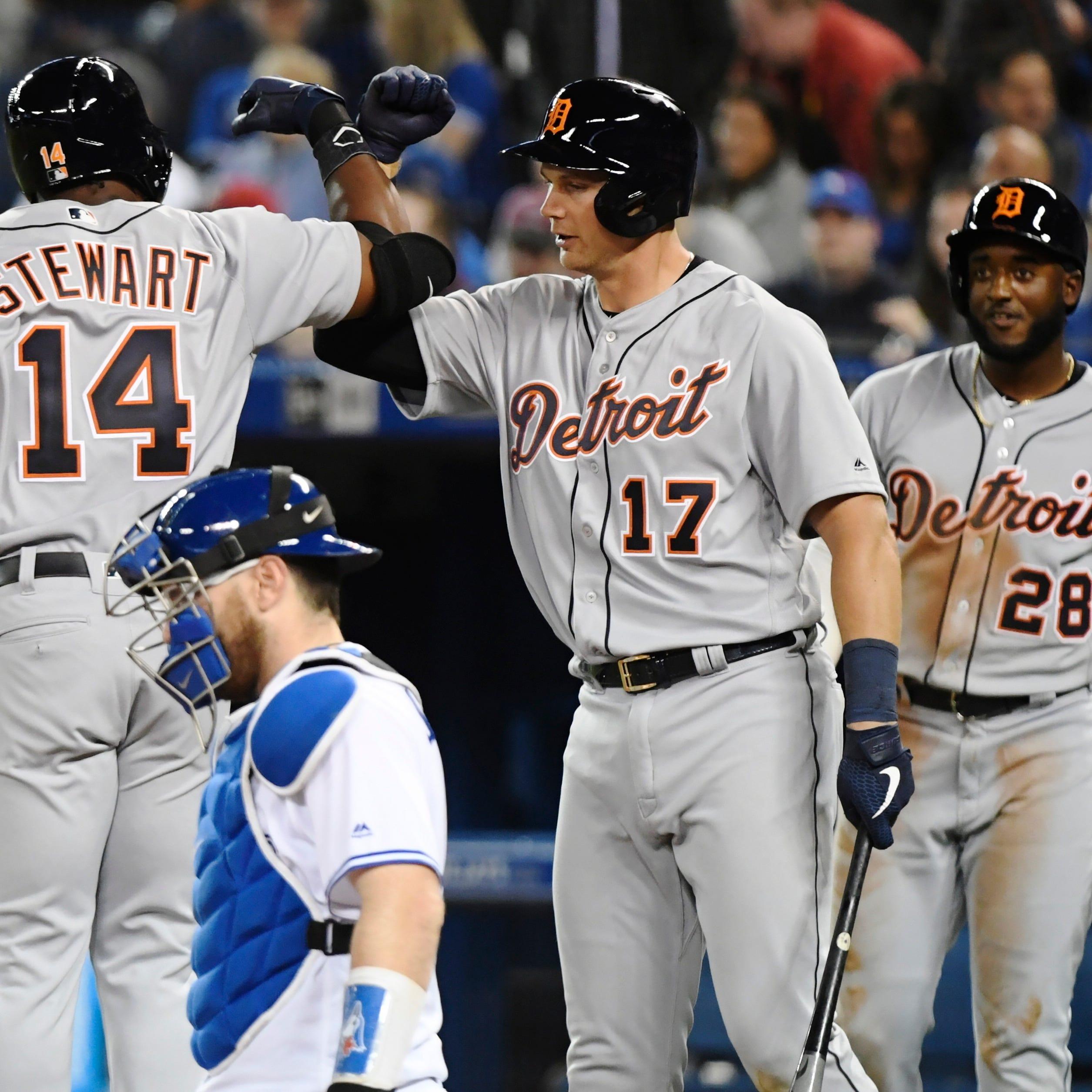 Fool him once, fool him twice, but Tigers rookie Christin Stewart has last laugh