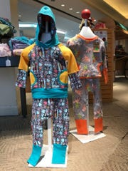 """""""Grow With Me"""" outfits for children."""