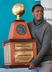 Cassius Winston won the Mr. Basketball Award in 2016.