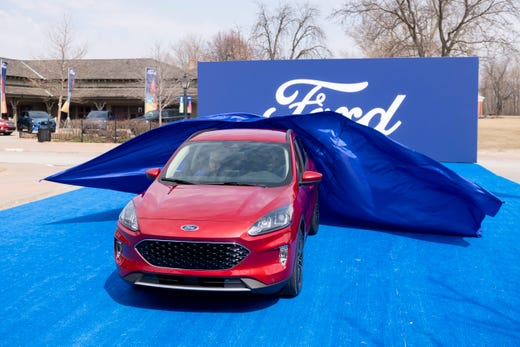 Ford Rolls Out The Blue Carpet To Debut Its New Escape