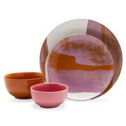 This Vintage Marble 16 Piece Dinnerware Set is part of the new collection.