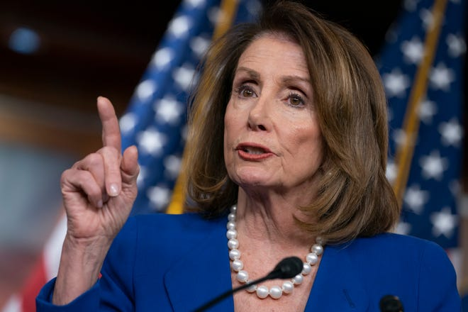 """House Speaker Nancy Pelosi says the AG's letter about special counsel Robert Mueller's report was """"condescending."""""""