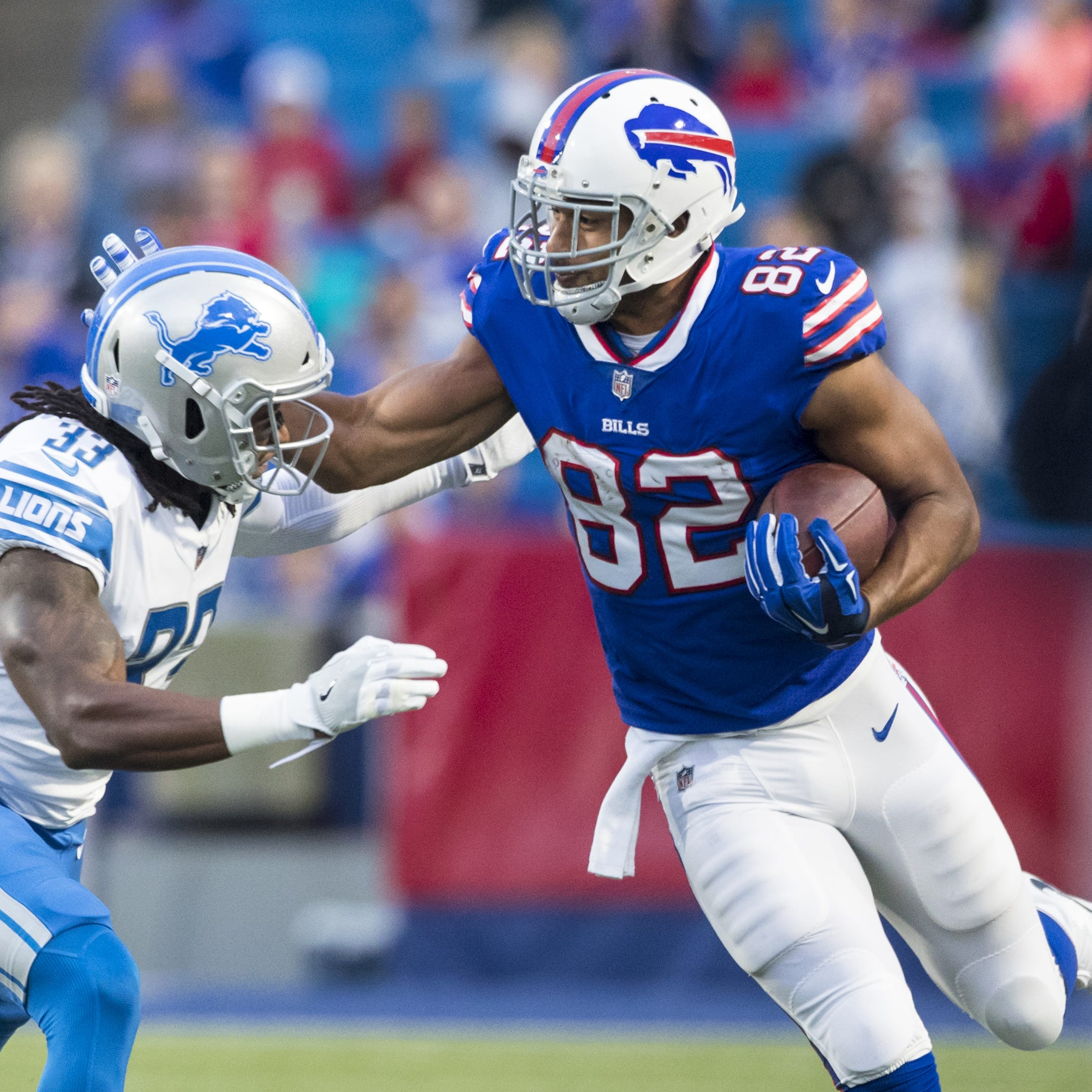 Lions excited about second shot with 'tough guy' TE Logan Thomas