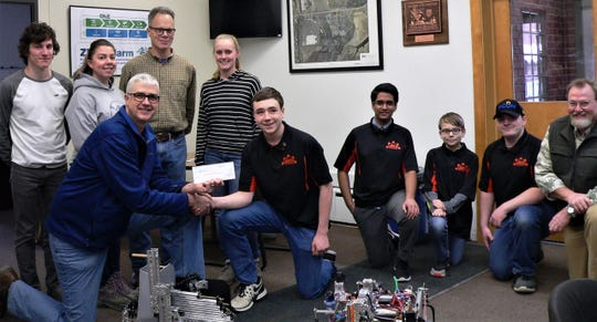 The Mechanical Meltdown Schuyler County youth robotics team receives a $7,500 donation from Cargill Inc.