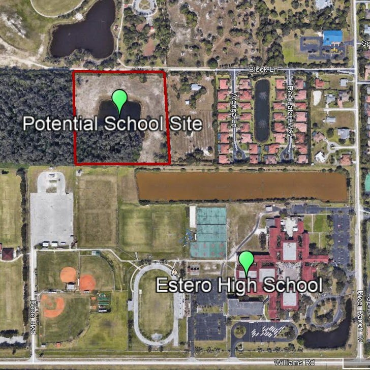 Lee County school district plans to buy land in Estero for $2.5 million