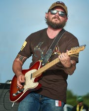 Combat veteran Adam Martin recorded a song for Hero Song. His band, Blackbird Anthem, played the organization's first fundraiser last year at The Ranch Concert Hall and Saloon.