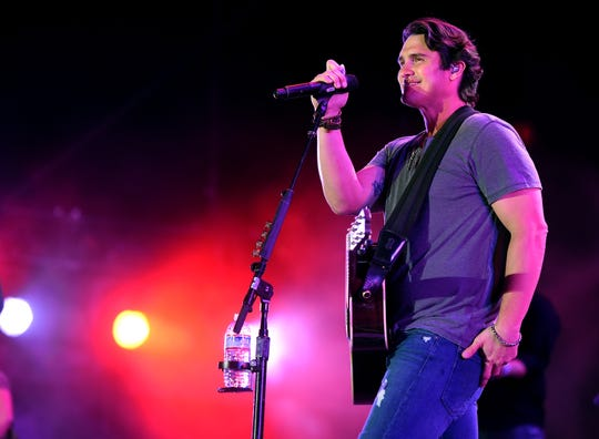 """Country music star Joe Nichols will make sure it's """"Sunny and 75"""" at Celebrate De Pere when he headlines May 25."""