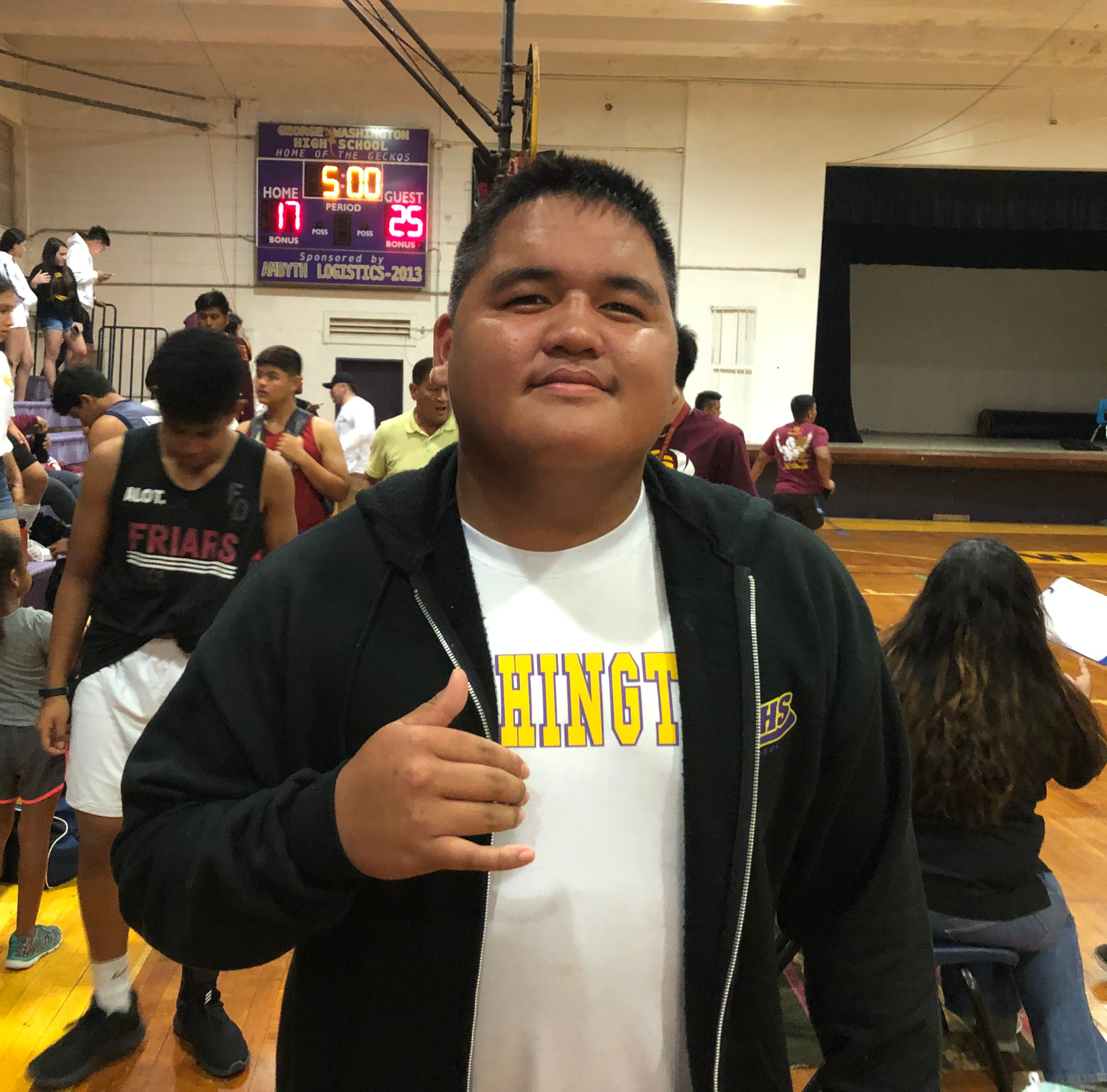 Ethaniel Cali is the PDN's Player of the Week