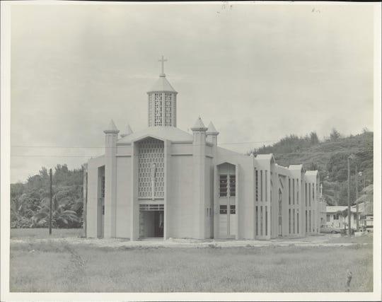 Asan Catholic Church post-war