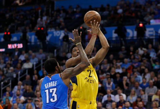 2018304f4c46 Indiana Pacers  loss to OKC Thunder threatens NBA playoffs seed