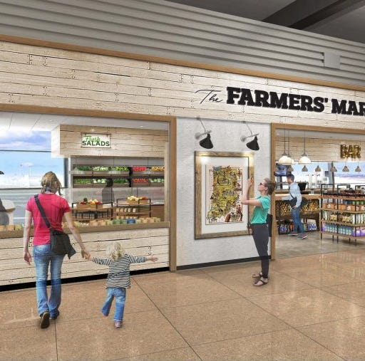 Indianapolis International Airport will begin farmers market construction later this year