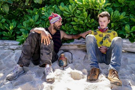 "Dan ""Wardog"" Dasilva and Gavin Whitson on ""Survivor: Edge of Extinction."""