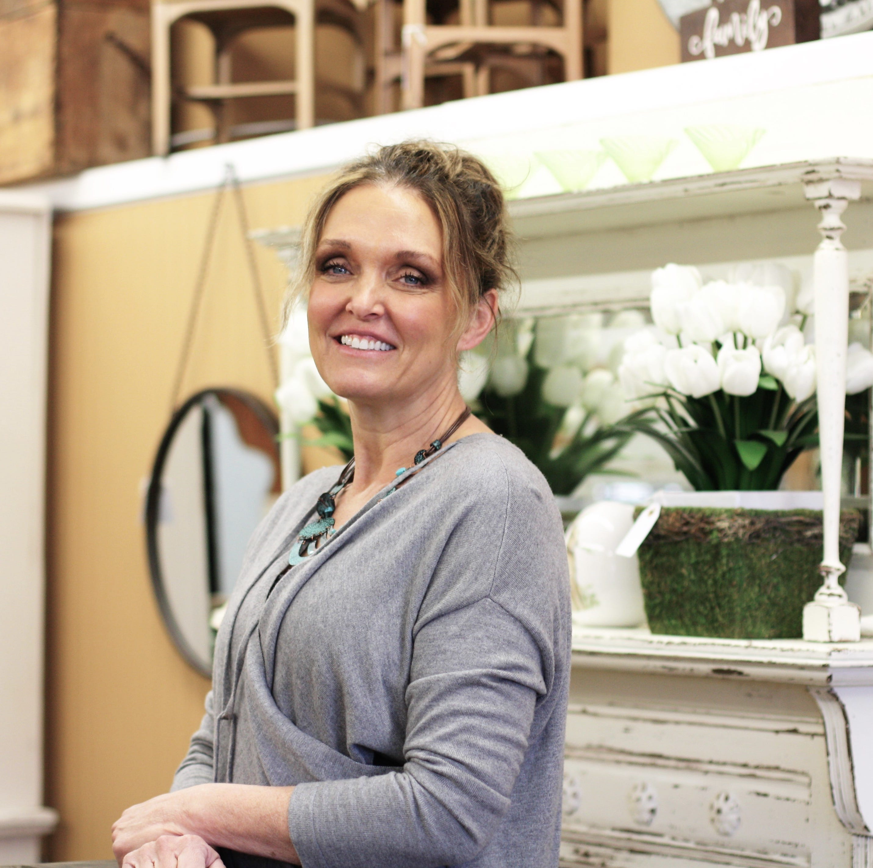 Shopper News blog: DIYer opens House of Painted Furniture in Fountain City