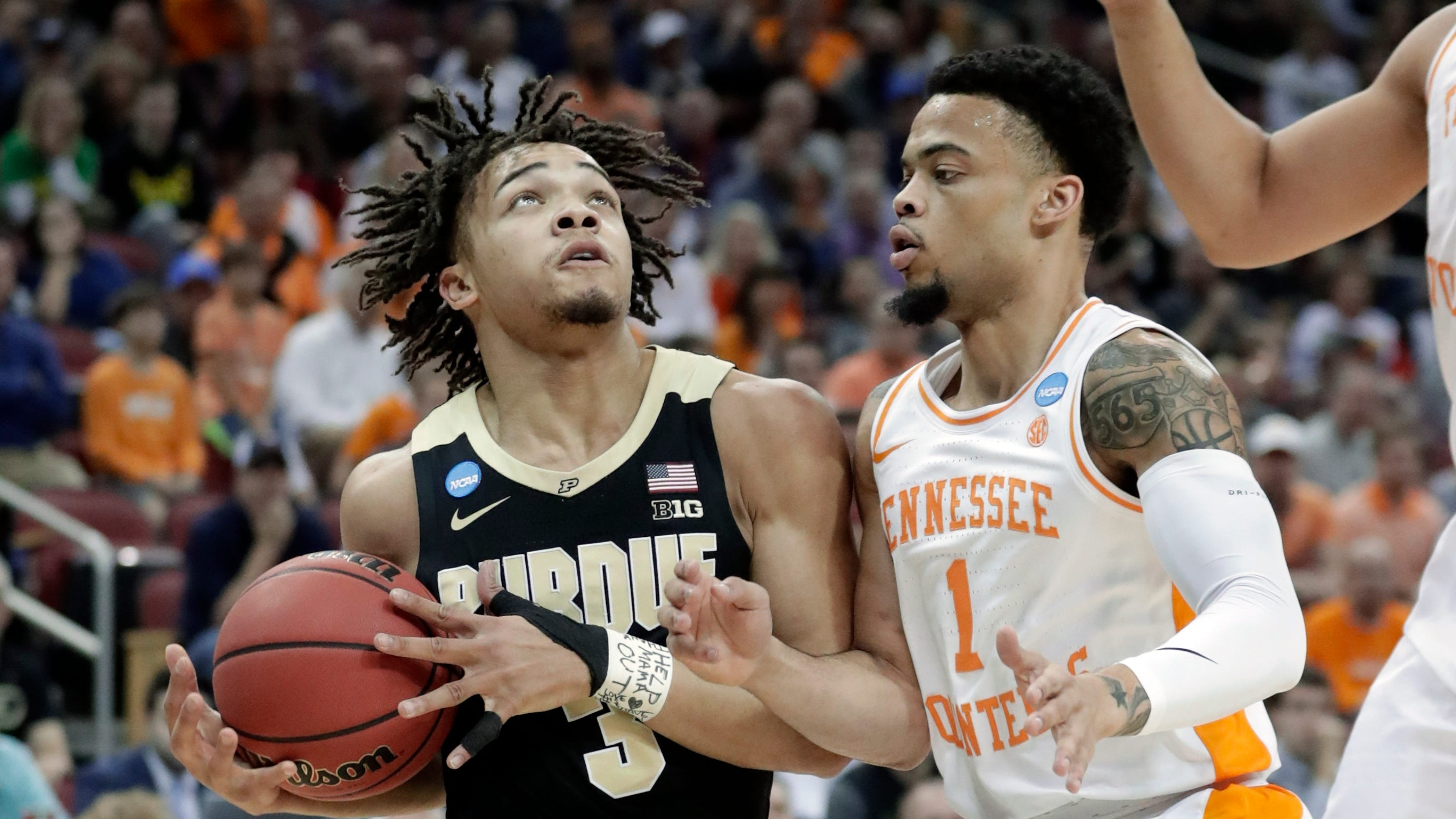 March Madness Did Lamonte Turner Foul Carsen Edwards