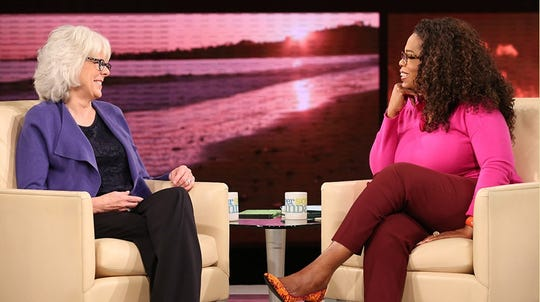 "Taylor has appeared several times on Oprah Winfrey's series, ""SuperSoul Sunday."" Nov. 9, 2014."
