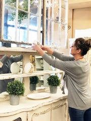 House of Painted Furniture owner Ginger Lay started work on her store in October 2018, making sure every last detail is perfect.