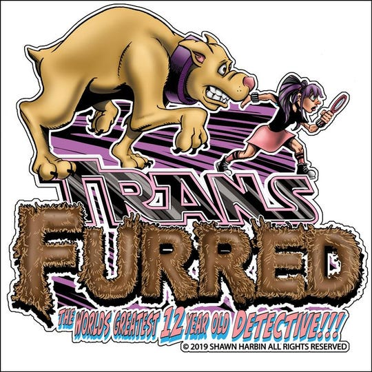 """Shawn Harbin is offering this magnet to people who back his Kickstarter campaign to print the """"Transfurred"""" comic book."""