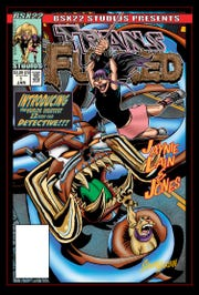 """Pictured is the exclusive Kickstarter variant cover for the """"Transfurred"""" comic, written and illustrated by Knoxville resident Shawn Harbin."""