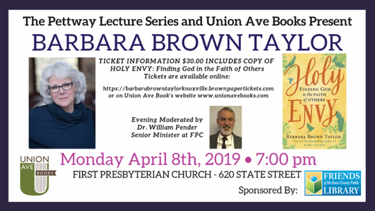 Barbara Brown Taylor flyer