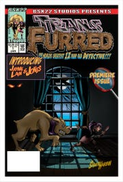 """The """"Transfurred"""" comic was written and illustrated by Knoxville resident Shawn Harbin."""