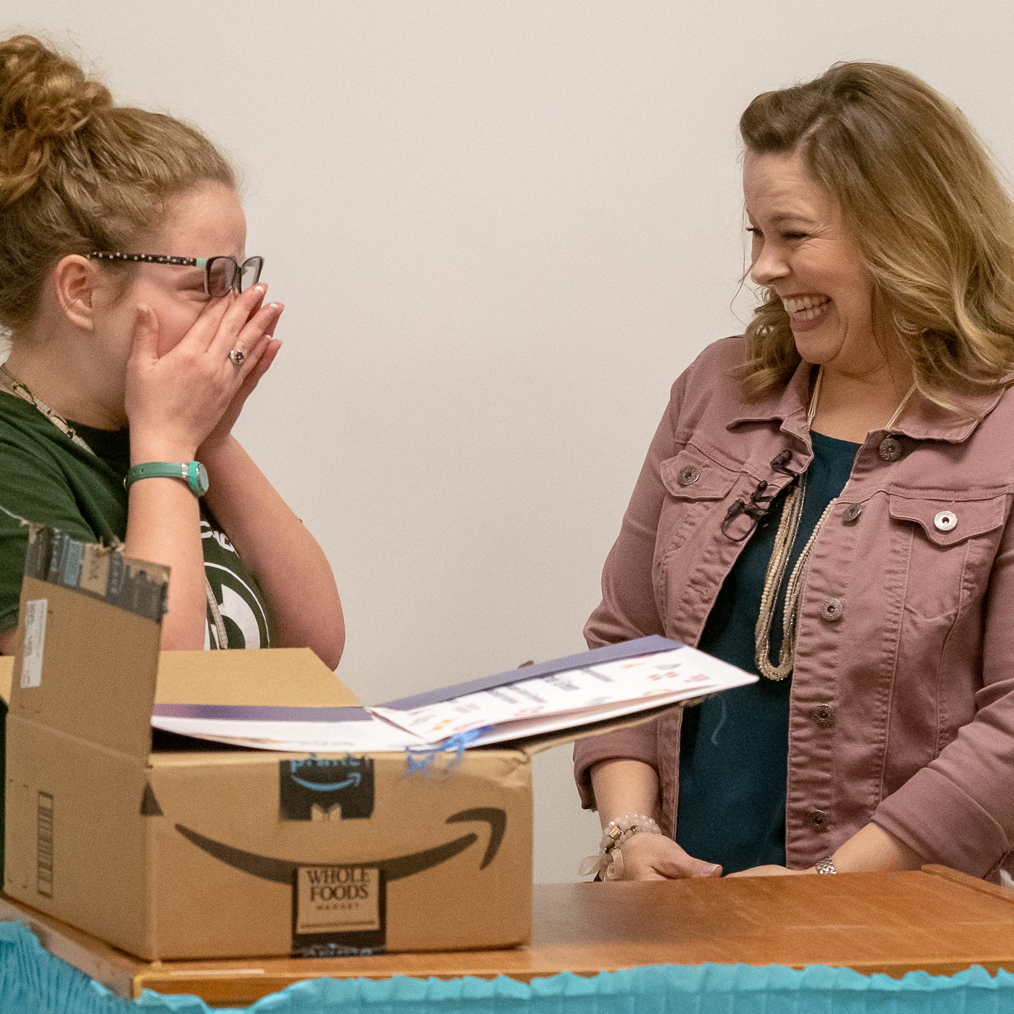 Surprise! Carencro student gets $40K scholarship, Amazon internship