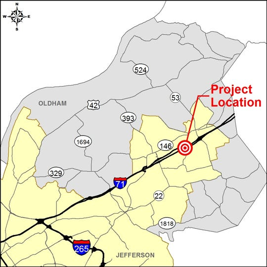 The Kentucky Transportation Cabinet is in the design phase of a project to build a new interchange at mile marker 20.6 of Interstate 71 in Oldham County.