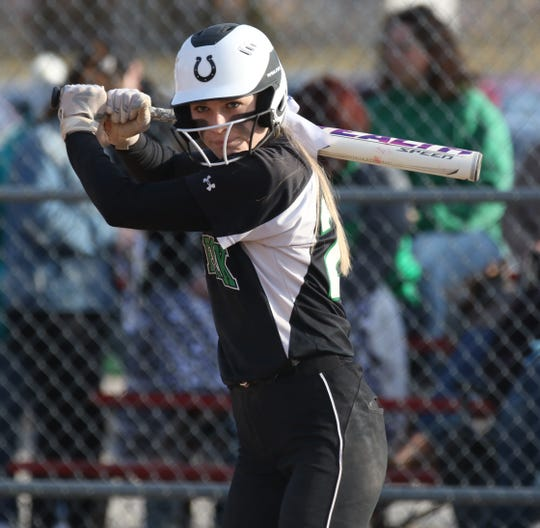Clear Fork's Carson Crowner collected five hits in the Lady Colts' 13-3 win over Buckeye Valley which included a home run and three RBI.