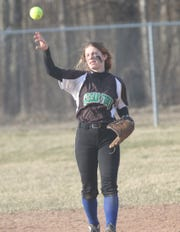 Clear Fork's Courtney Palmer collected five hits and seven RBI in three games helping the Lady Colts win the M Division title at the MVD Invitational in Ashland.