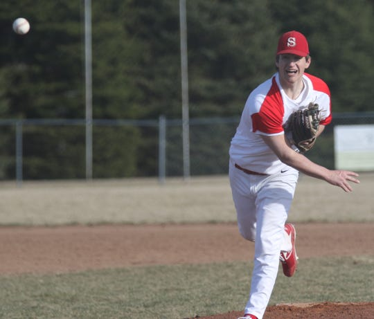 Shelby's Blaise Caudill will play college baseball at Owen Community College with hopes of earning a Division I scholarship.
