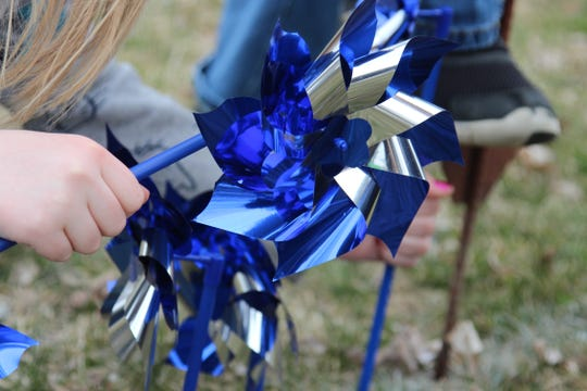 The pinwheels are meant to represent the voices who have spoken up on behalf of children by reporting abuse. Bryant Brown, with Marion County Children Services, said a majority of their cases are drug related. He said the number of cases they handle each year continues to increase.