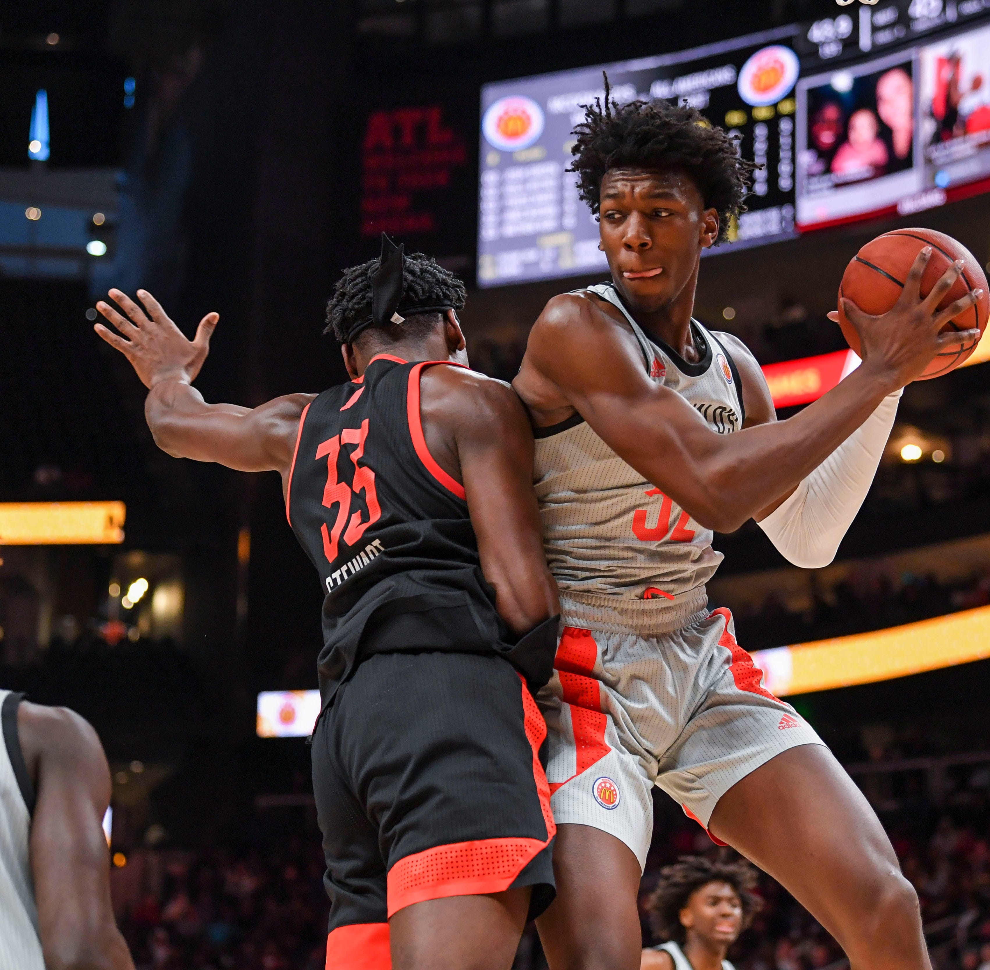 James Wiseman posts double-double in Nike Hoop Summit game