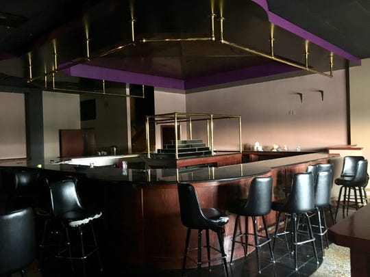 This is the bar of the former Spearmint Rhino Gentlemen's Club in the Town of Trenton in Washington County. Ozaukee Christian School plans to convert the strip joint into classrooms.