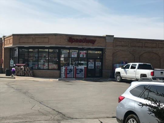 A customer at this Speedway gas station, 15555 W. Beloit Road, in New Berlin bought a winning Powerball jackpot lottery ticket worth $768.4 million. That sum is the largest jackpot in the Wisconsin lottery's history.