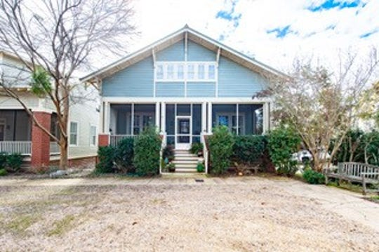 One home on Bungalow Court in The Waters is for sale for $284,900 and includes three bedrooms and 3 1/2 bathrooms.