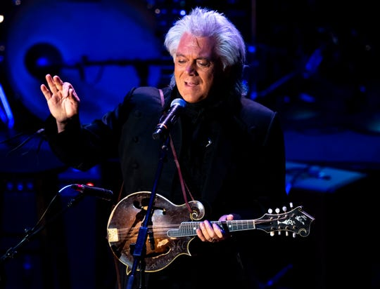 Marty Stuart, seen here performing at the Ryman Auditorium in March, will be the 2019 artist-in-residence at the Country Music Hall of Fame.