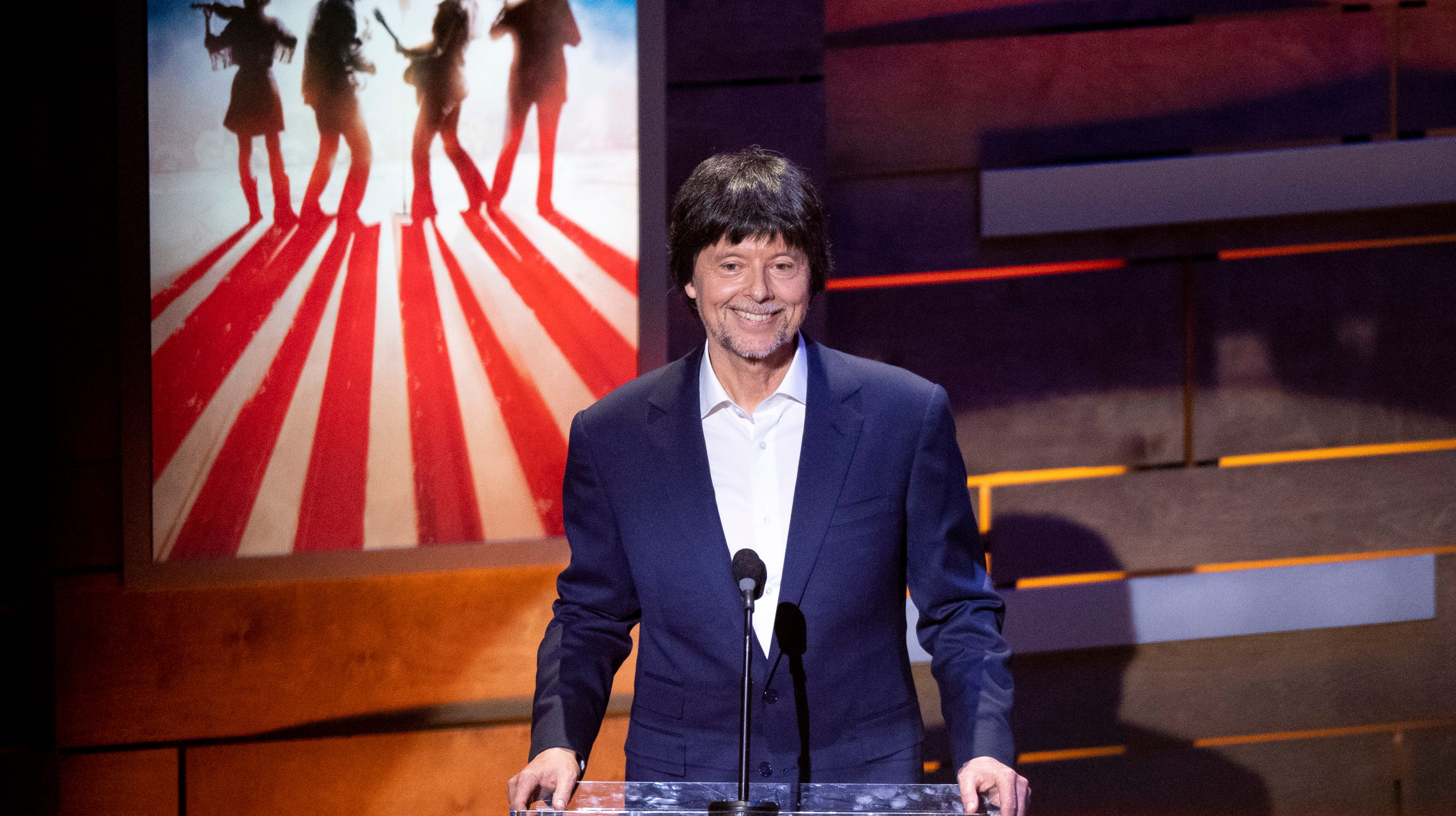Ken Burns talks Dolly Parton, Merle Haggard and making
