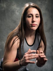 Rossview wrestler Emma Walker