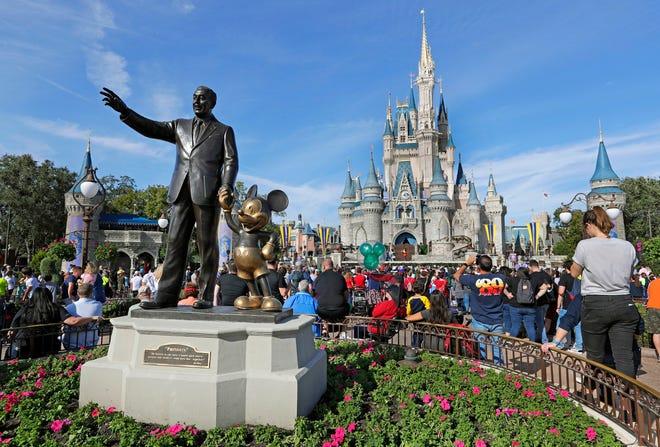 Parque de Disney en California.
