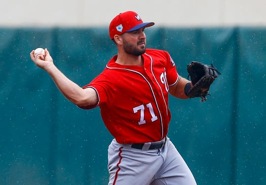 Washington Nationals second baseman Jake Noll made the 2019 team as a non-roster invitee.