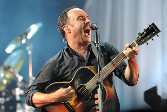 The Dave Matthews Band performs April 30, 2019, in Pensacola and returns to Florida in late July for concerts in Tampa and West Palm Beach.