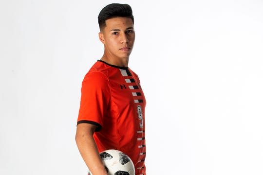 Lely High School junior soccer player David Gomez